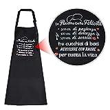 MEJOSER Delantal Cocina Ajustable Mandil con 2 Bolsillos Cocinero Barbacoa Hornear Jardinería Restaurante Hotel Hogar Mujer Hombre Adulto