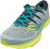 Saucony Triumph ISO 5, Zapatillas de Running Hombre, Verde Verde 37, 45 EU