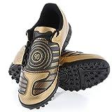 Nike - JR Total 90 Shoot TF - 318879701 - Color: Dorado-Negro - Size: 38.5